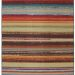 Mohawk Printed Indoor/Outdoor Avenue Stripe Multi Collection