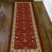 "Radici USA Como 1597 Red 2'2"" x 7'7"" Runner Room Scene"