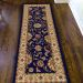 "Radici USA Como 1621 Navy 2'2"" x 7'7"" Runner Room Scene"