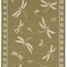 Liora Manne Terrace Dragonfly Green Collection