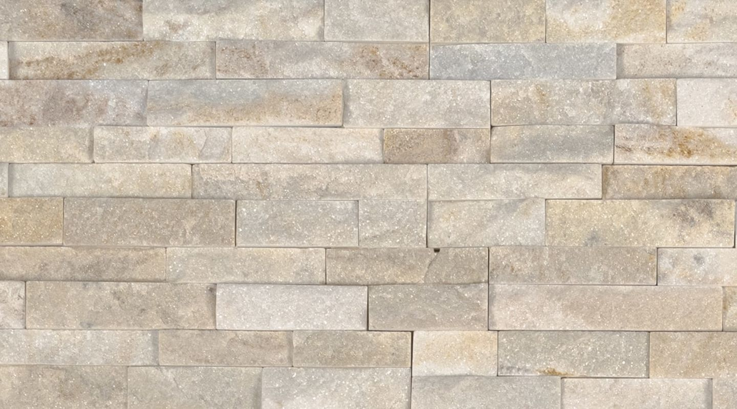MS International M-Series Rockmount Stacked Stone Mini, Arctic Golden Mini Wall Coverings