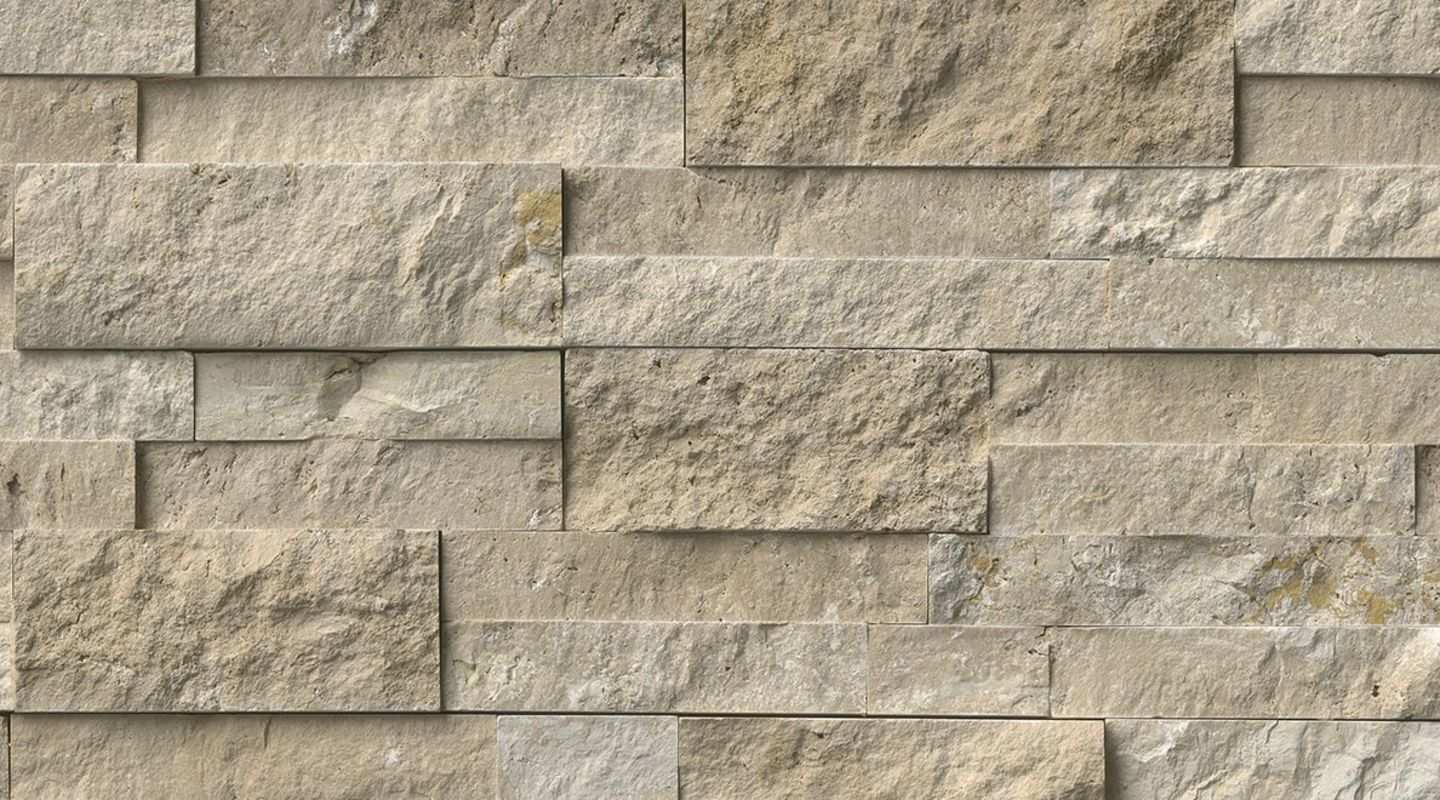 MS International Rockmount Stacked Stone, Durango Cream Wall Coverings