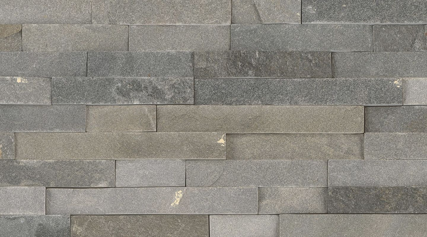 MS International Rockmount Stacked Stone, Sedona Gray Wall Coverings