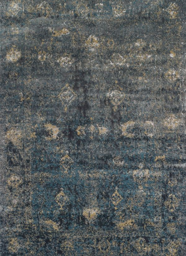 "Dalyn Antiquity Aq1 Charcoal 3'3"" x 5'1"" Collection"
