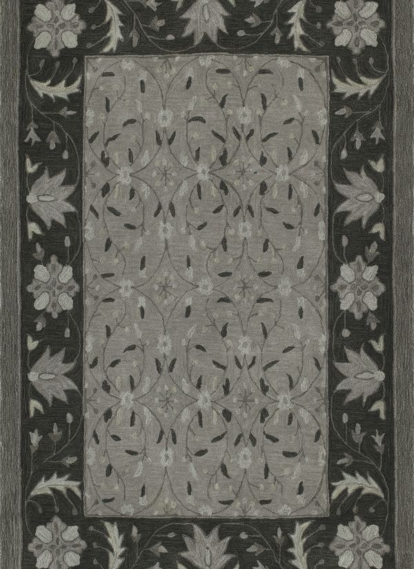 "Dalyn Tribeca Tb1 Pewter 3'6"" x 5'6"" Collection"