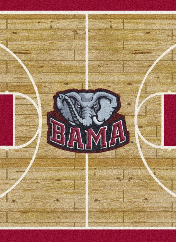 Milliken College Home Court Alabama Tan/Crimson/Gray Collection