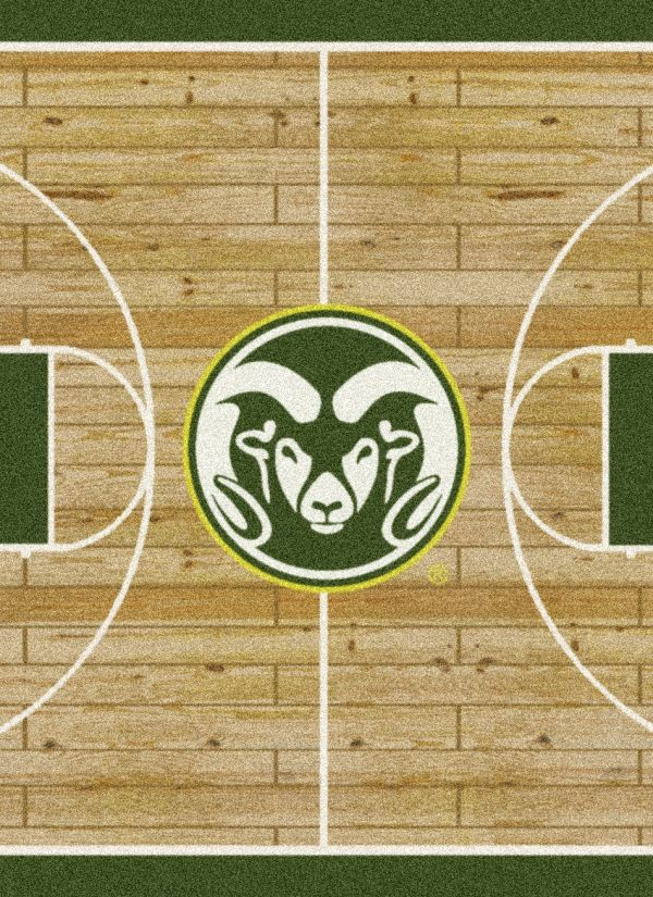 "Milliken College Home Court Colorado State Multi 10'9"" x 13'2"" Collection"