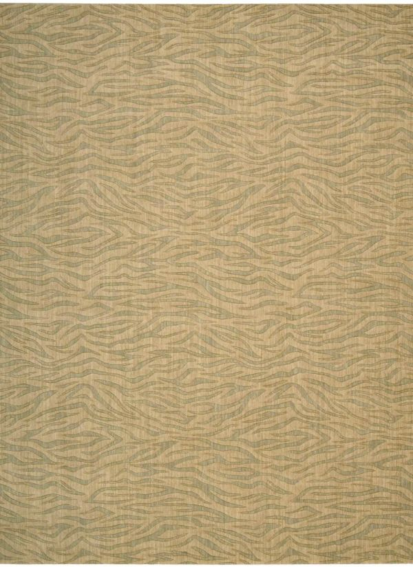 Nourison Cosmopolitan Beige Green Collection