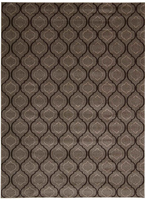 "Michael Amini Glistening Nights Grey 5'3"" x 7'6"" Collection"