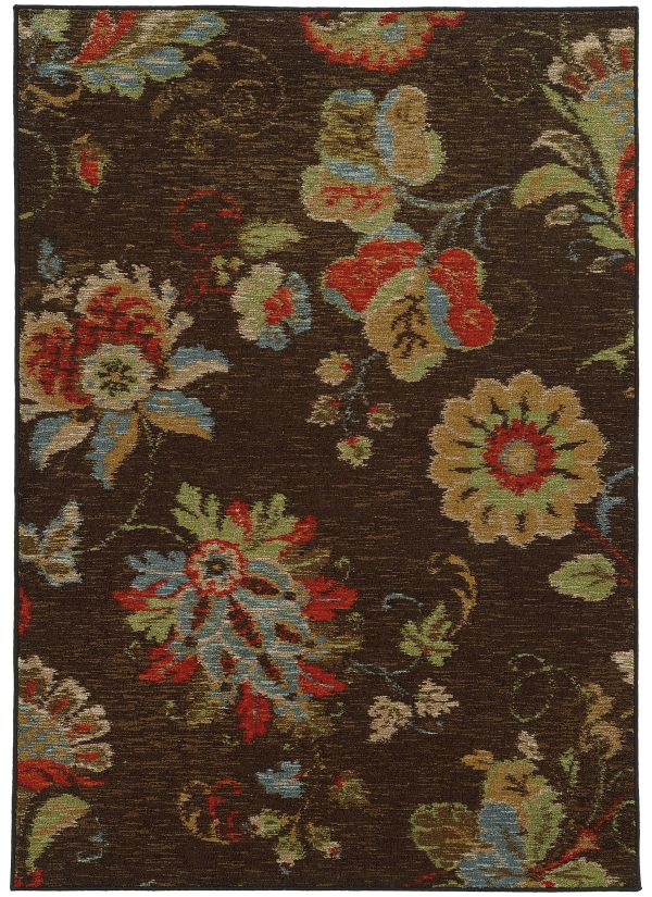 Oriental Weavers Arabella 41908 Brown Collection