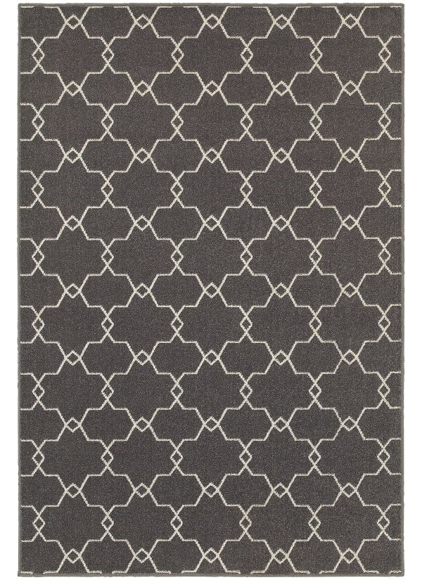 Oriental Weavers Hampton 537e Grey Collection