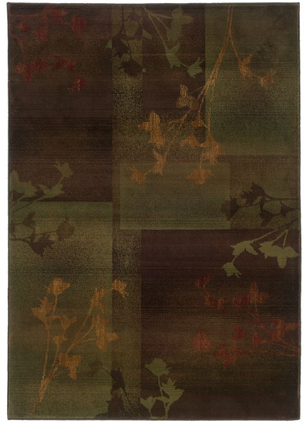 Oriental Weavers Kharma II 1048d Purple Collection