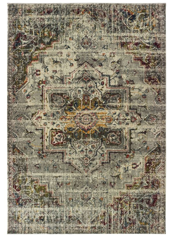 Oriental Weavers Mantra 1901x Grey Collection