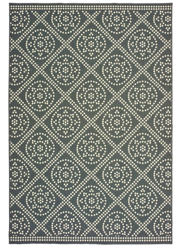 Oriental Weavers Marina 3969l Grey Collection