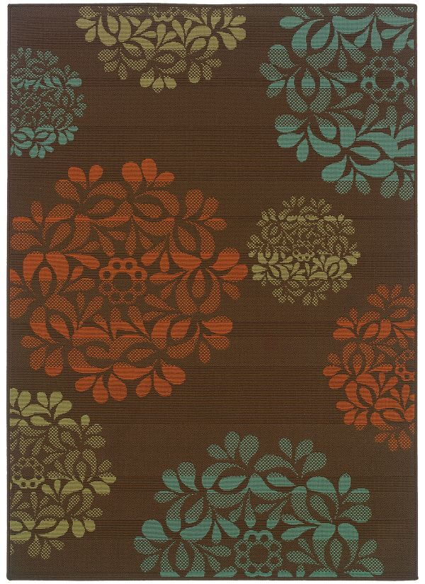 Oriental Weavers Montego 2635n Brown Collection