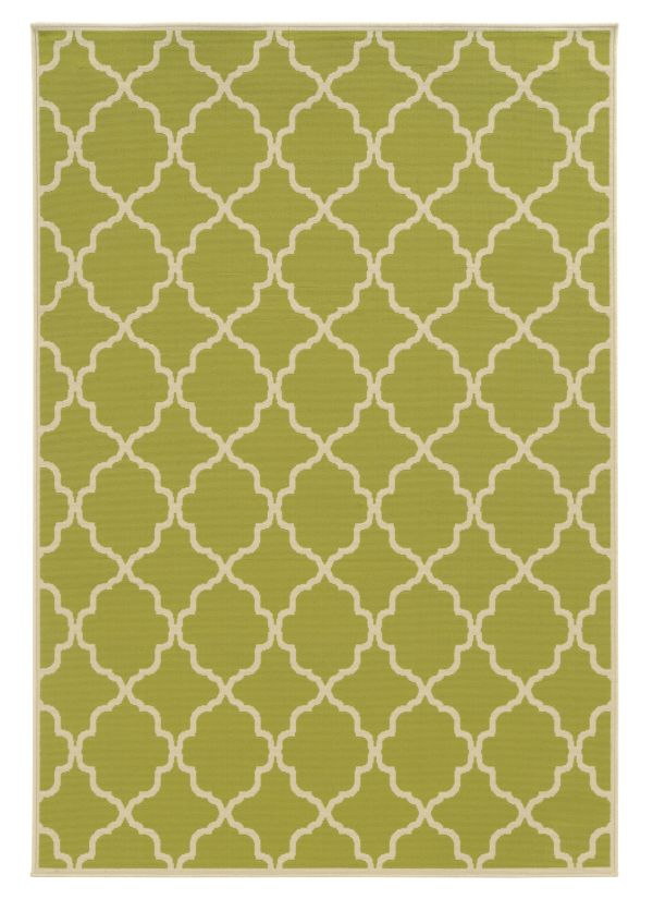 Oriental Weavers Riviera 4770m Green Collection