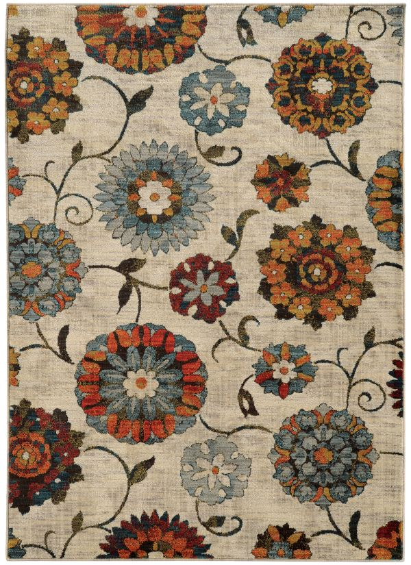 Oriental Weavers Sedona 6361a Ivory Collection