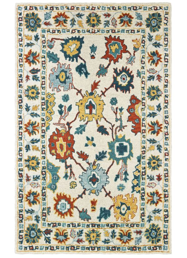 Oriental Weavers Zahra 75507 Ivory Collection