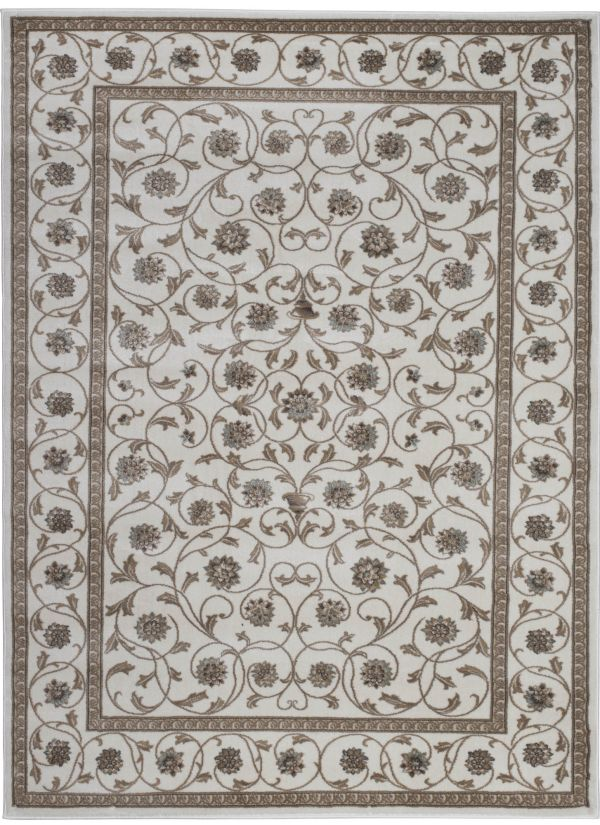 "Radici USA Pisa 3743 Bone 5'0"" x 5'0"" Round Collection"