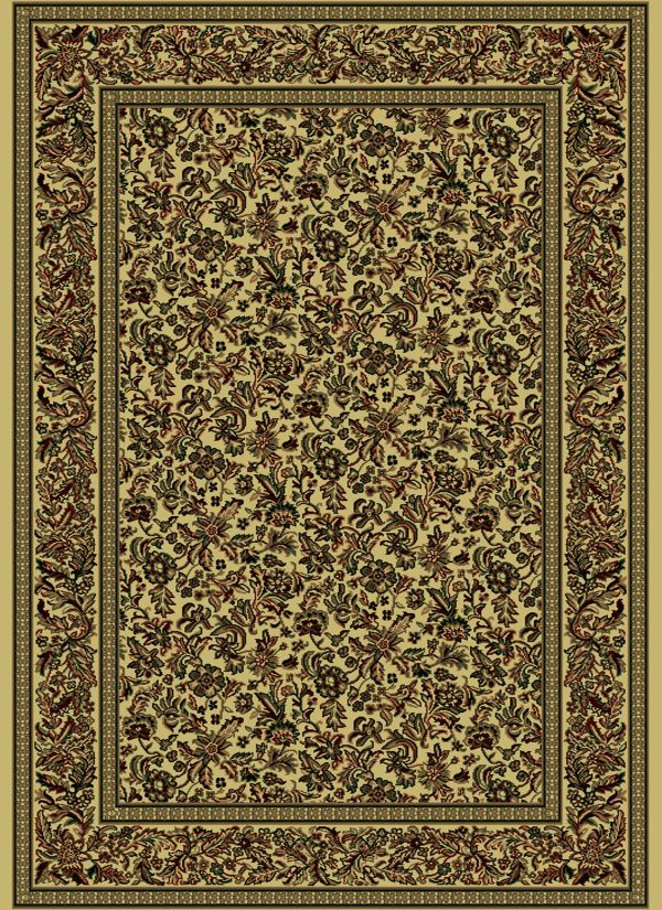 "Radici USA Castello 1219 Ivory 2'2"" x 7'7"" Runner Collection"