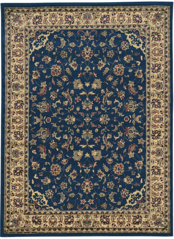 "Radici USA Castello 953 Navy 2'2"" x 7'7"" Runner Collection"
