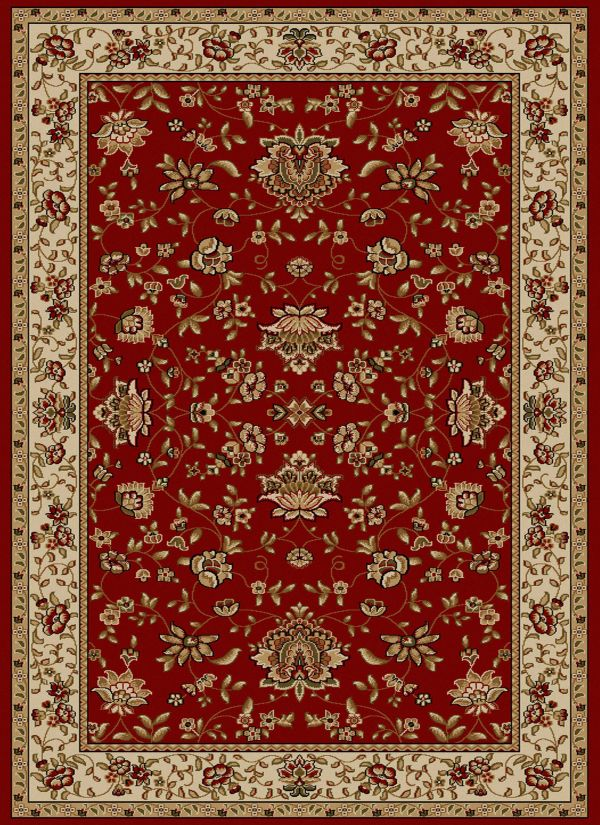 "Radici USA Como 1597 Red 2'2"" x 7'7"" Runner Collection"