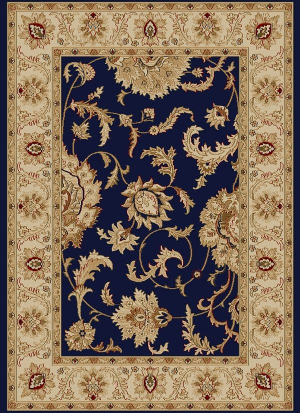 "Radici USA Como 1621 Navy 2'2"" x 7'7"" Runner Collection"