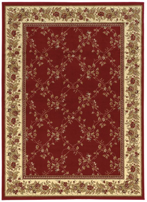 "Radici USA Como 1590 Red 3'3"" x 4'11"" Collection"