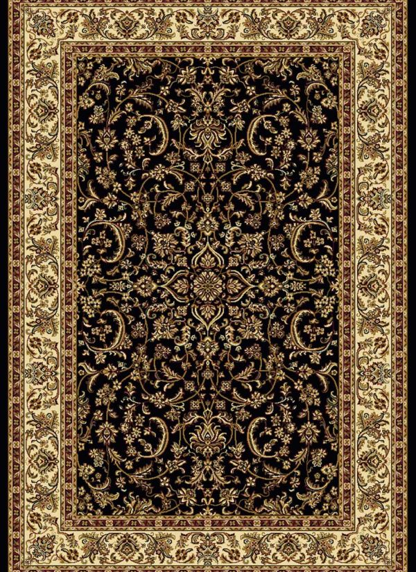 "Radici USA Noble 1318 Black 2'2"" x 8'0"" Runner Collection"
