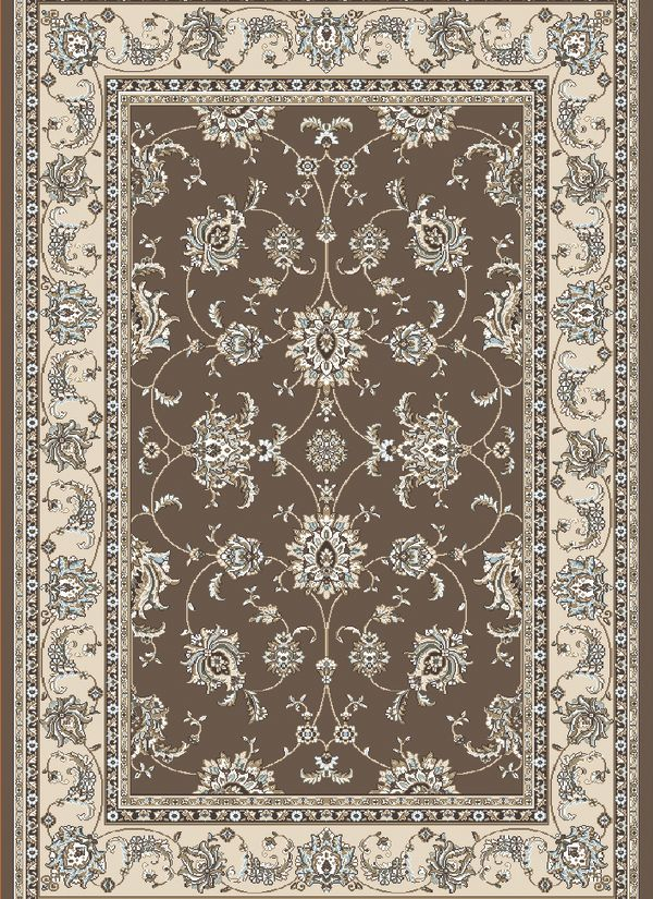 "Radici USA Pisa 1780 Brown 3'3"" x 4'11"" Collection"
