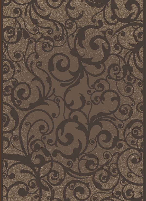 "Radici USA Pisa 1845 Brown 5'3"" x 7'3"" Collection"