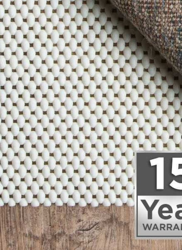 15 Year Warranty Area Rug Pad Pre-packaged Collection