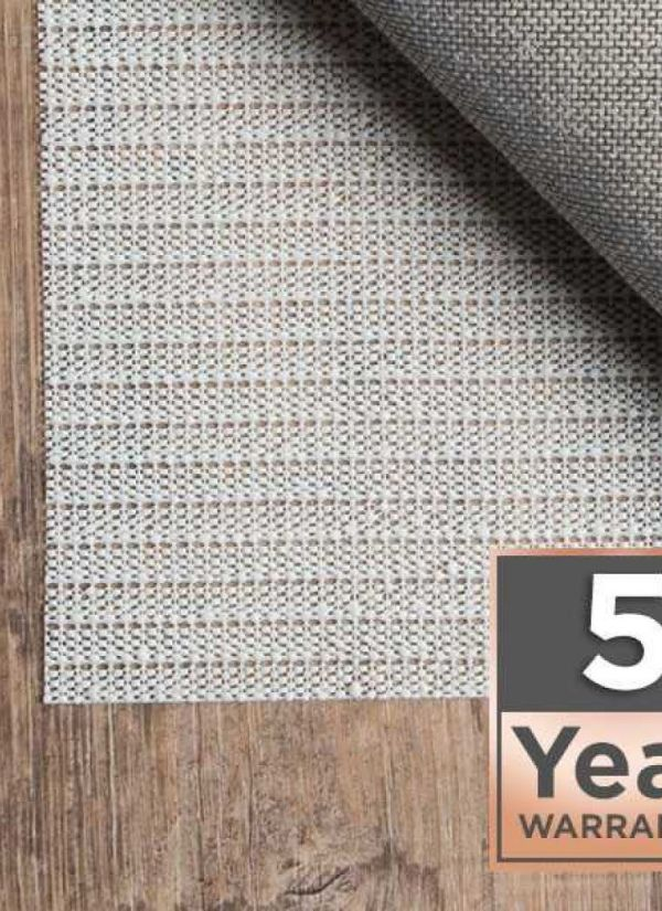 5 Year Warranty Area Rug Pad Pre-packaged Collection