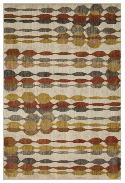 Karastan Rugs Expressions Acoustic Ginger by Scott Living Oyster Collection