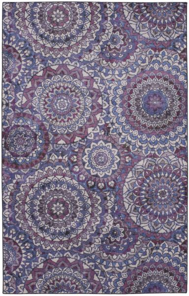 Mohawk Prismatic Florence Medallion Purple Multi Collection