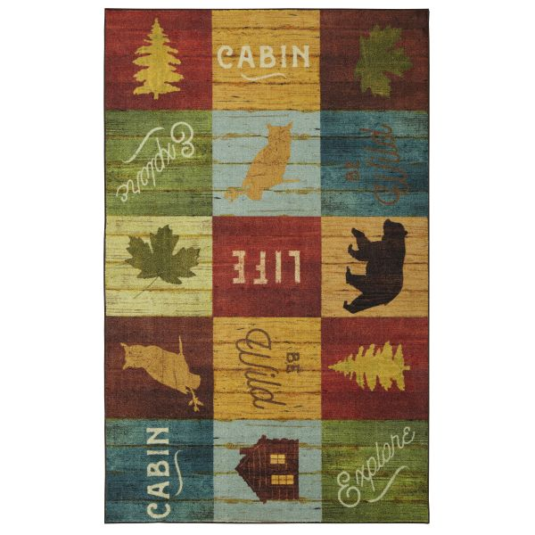 Mohawk Prismatic Cabin Life Multi Collection