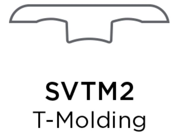 Shaw T-molding Yadkn Rvr Hckry Collection