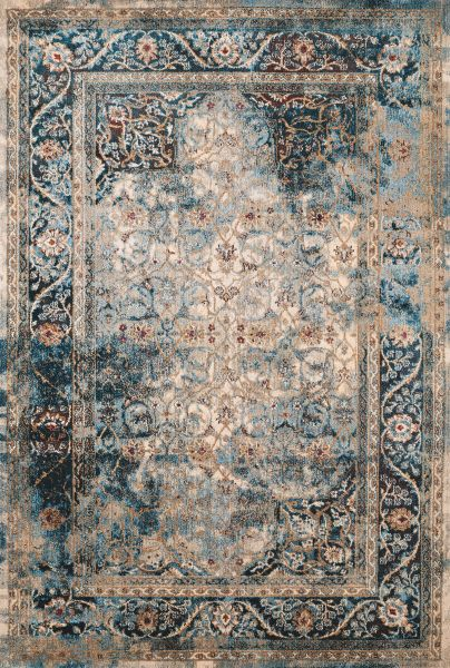 United Weavers Jules Camelot Cerulean Collection