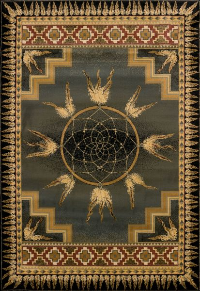United Weavers Genesis Dreamcatcher Green Collection
