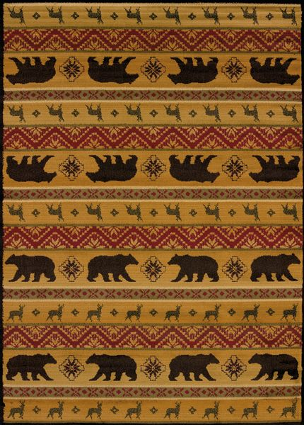 United Weavers Affinity Nordic Bear Multi Collection