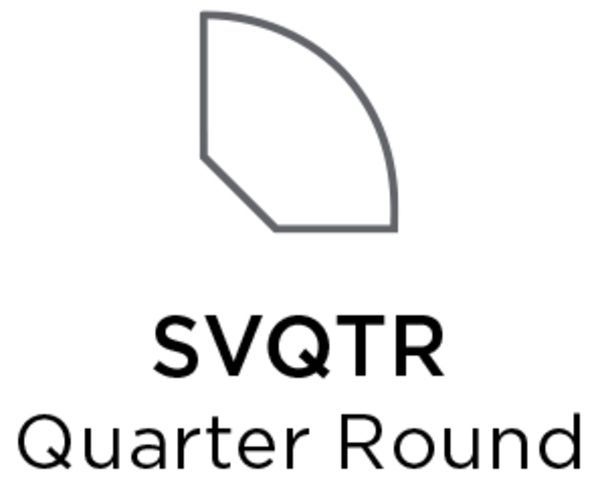 Shaw Quarter Round Yadkn Rvr Hckry Collection