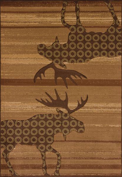United Weavers Designer Contours Cem Urban Lodge Toffee Collection