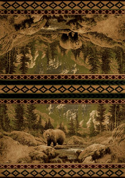 United Weavers Designer Contours Cem Scenic Bear Beige Collection