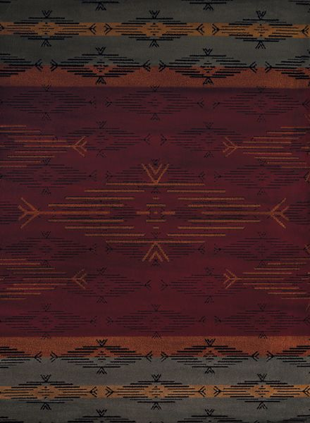 United Weavers Affinity Native Skye Red Collection