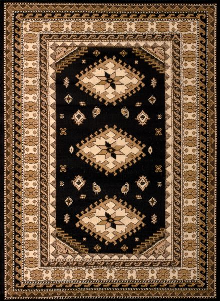 United Weavers Dallas Tres Black Collection