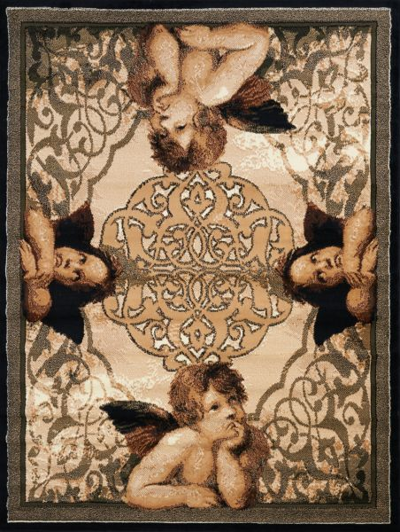 "United Weavers Legends Cherubs Multi 5'3"" x 7'2"" Collection"