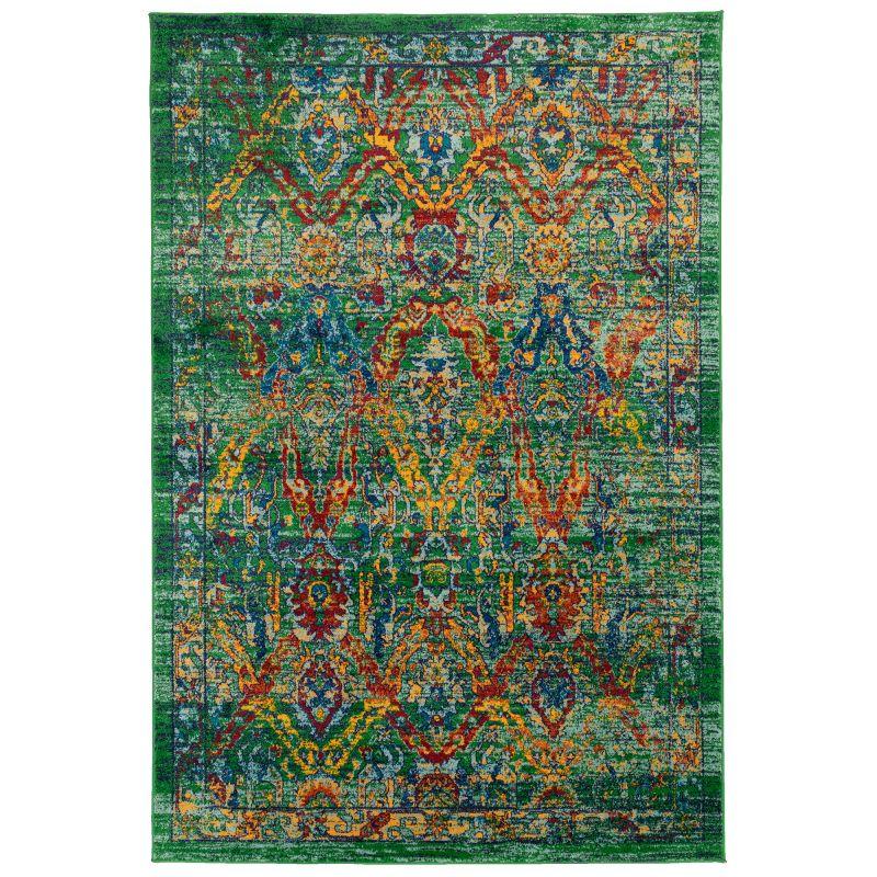 Liora Manne Fiesta Caspian Indoor Rug Green