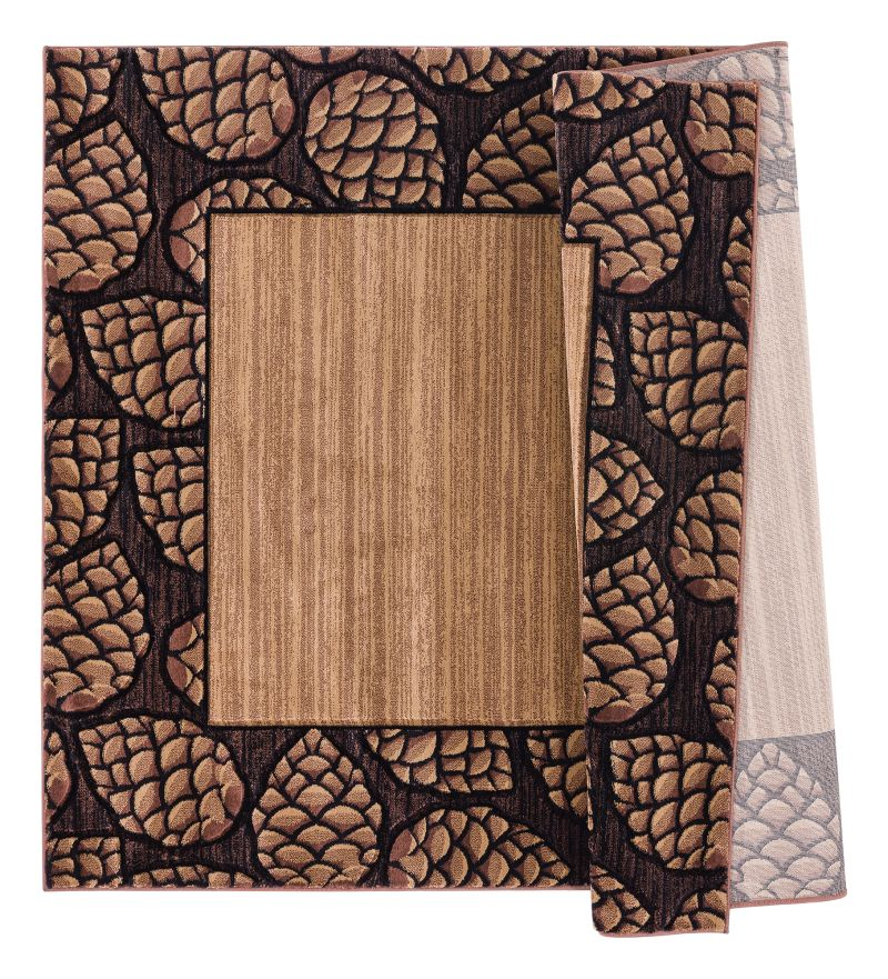 United Weavers Cottage Pine Border Beige Rug From United Weavers Area Rugs Shop Us