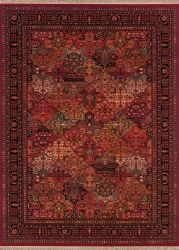 Couristan Kashimar Imperial Baktiari Antique Red
