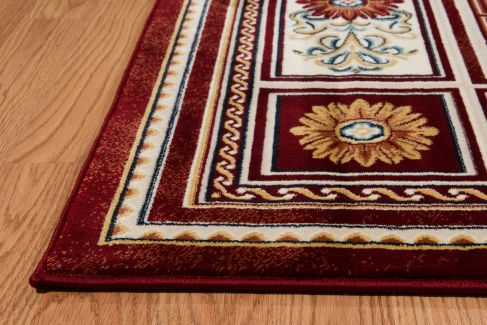 United Weavers Antiquities Oriental Border Ruby 2'3